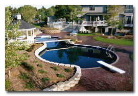 Atmosphere Landscaping Pool Feature